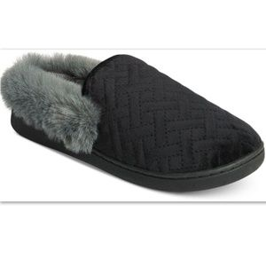 NWT Charter Club Macy's MicroVelour Clog Slippers